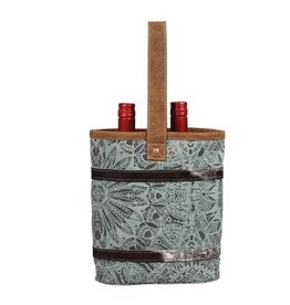 Double Wine Tote - Olive