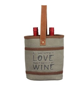 All You Need is Love - Wine Tote