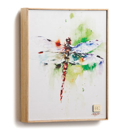 Dragonfly Canvas Wall Art - Dean Crouser