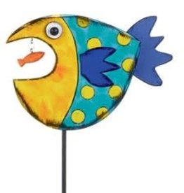 Tracy Pesche Fish Garden Stake - Blue