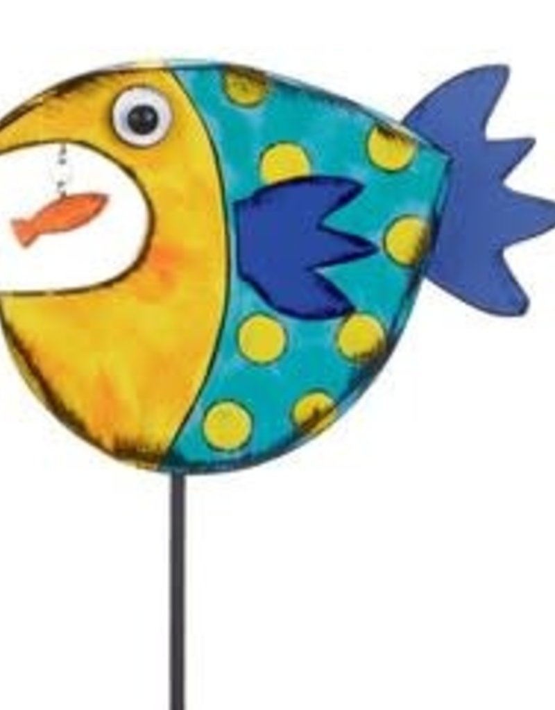 Tracy Pesche Fish Garden Stake - Blue