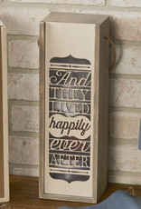 Wine Lantern - Happily Ever After