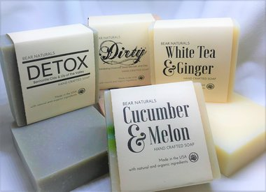 HANDMADE SOAPS. LOTIONS, & BODY PRODUCTS
