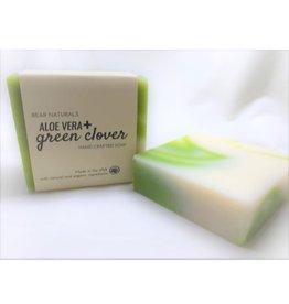 Bear Naturals Aloe Vera & Clover Handmade Soap