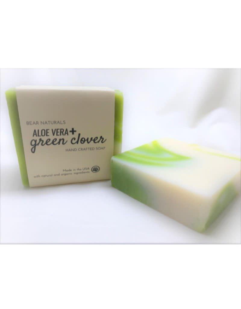 Aloe Vera & Clover Handmade Soap
