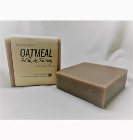 Bear Naturals Oatmeal, Milk, & Honey Handmade Soap
