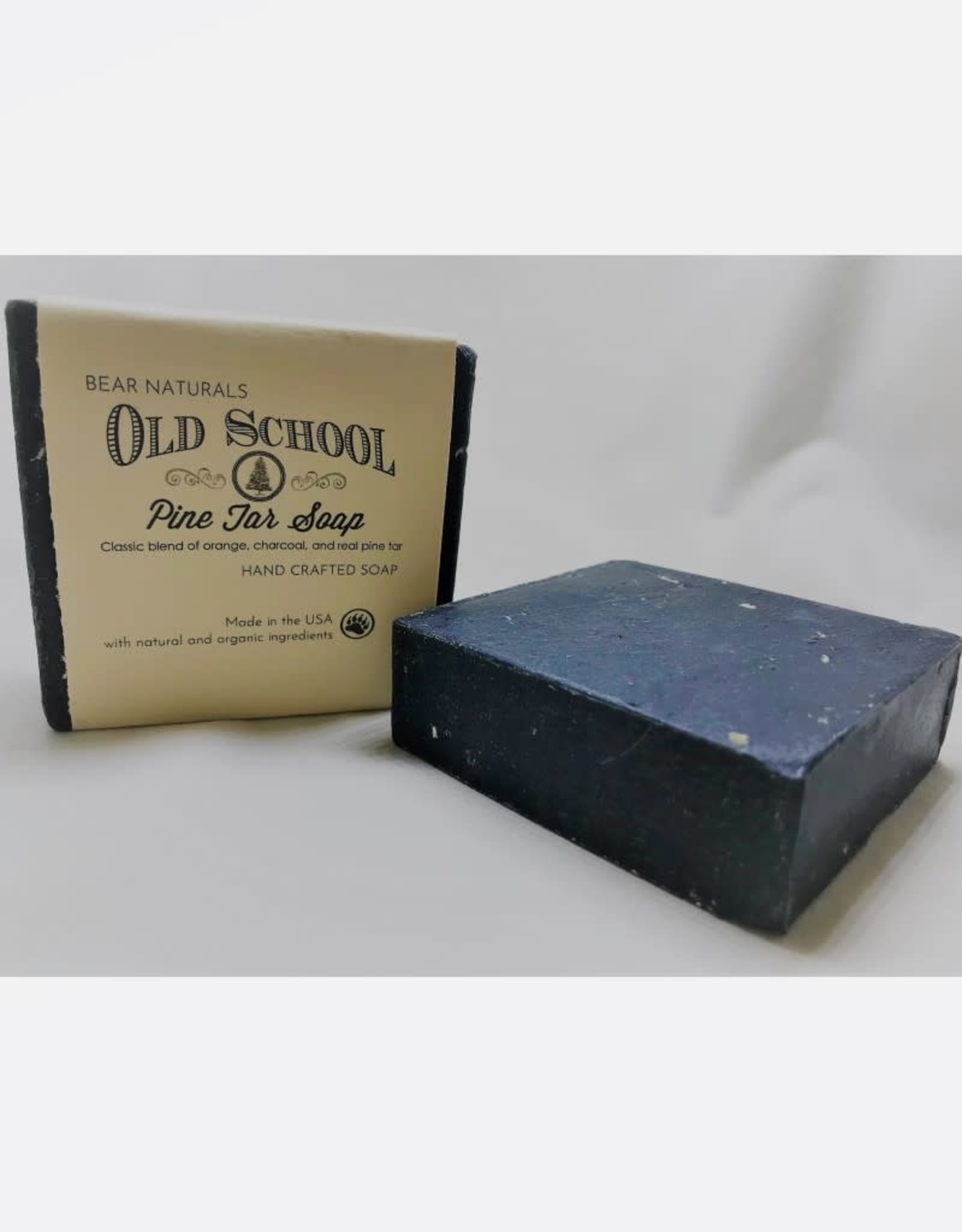 Bear Naturals Old Fashion Pine Tar Handmade Soap