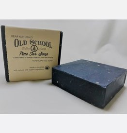 Bear Naturals Old Fashion Pine Tar Handmade Soap