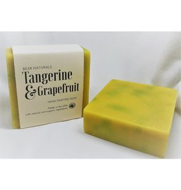 Bear Naturals Tangerine & Grapefruit Handmade Soap