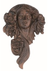 Flower Goddess Garden Face