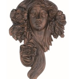 Flower Goddess Garden Face