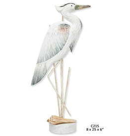 Great Blue Heron - Antique Blue (Large)