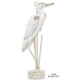 Great Blue Heron - Antique Blue (Medium)