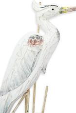 Great Blue Heron - Antique Blue (Medium)