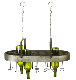 Hanging Wine Bottle Rack