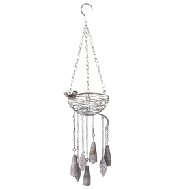 Iron Bird Nest Wind Chime