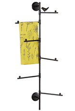 Iron Towel Rack - Bird