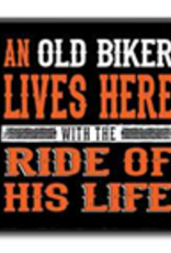 An Old Biker Lives Here 4x4