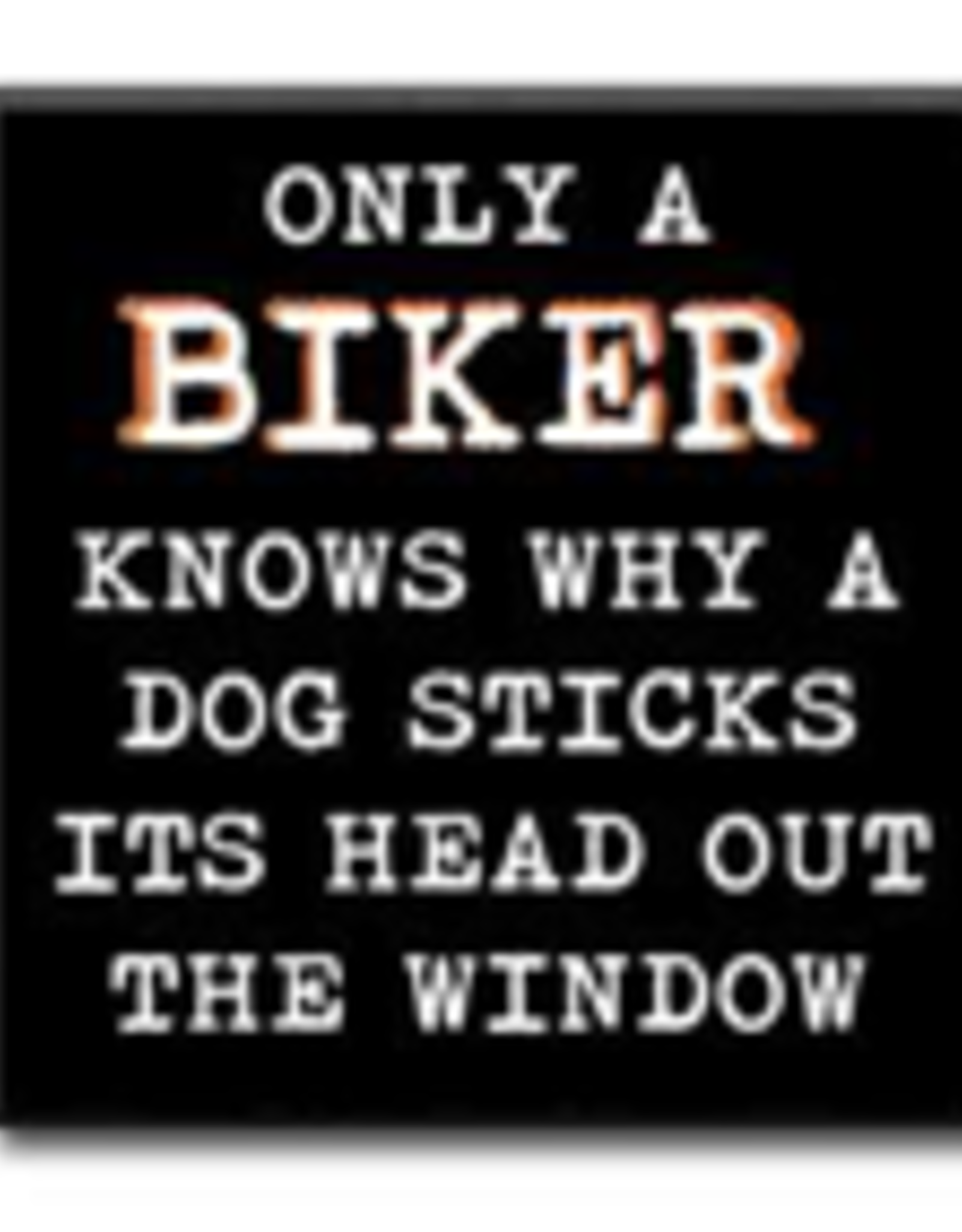 Only a Biker Knows Why 4x4