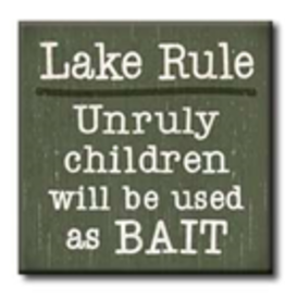 Lake Rule - Unruly Childer Used as Bait 4x4