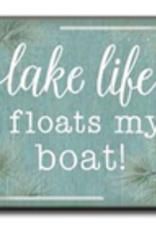 Lake Life Floats My Boat 4x4