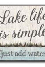 Lake Life is Simple 4x4