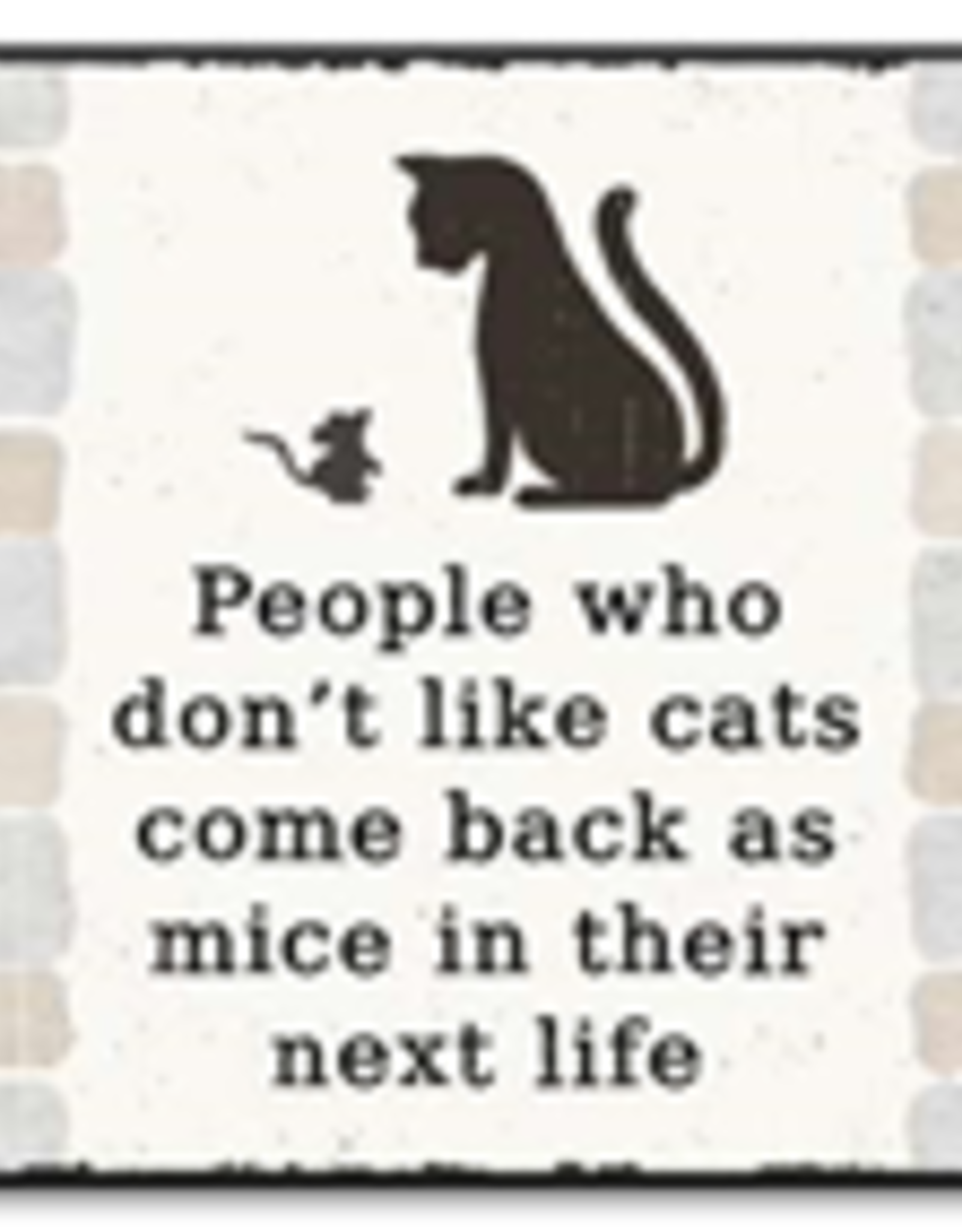 People Who Don't Like Cats Come Back As Mice 6x6