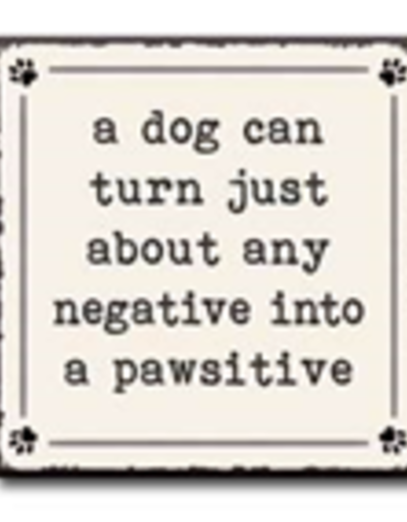 A Dog Can Turn Just About Any Negative into a Pawsitive 4x4