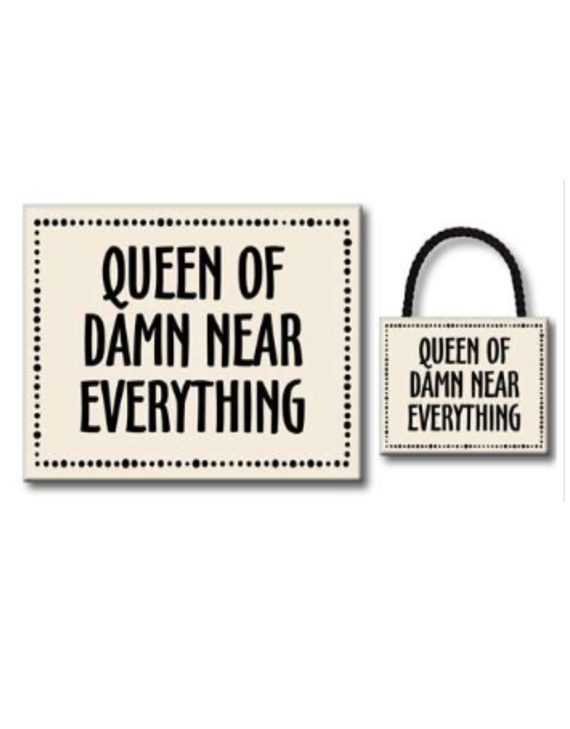 Queen of Damn Near Everything 4.5x6