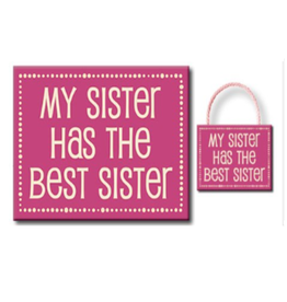My Sister Has the Best Sister 4.5x6