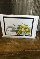 Bicycle with Flower Basket SY