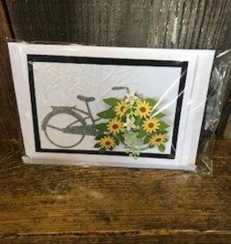 Christine Saksewski Bicycle with Flower Basket SY