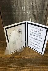 Christine Saksewski Wedding Card