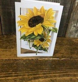 Christine Saksewski Sunflower Card
