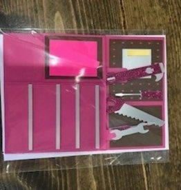 Christine Saksewski Toolbox - Pink