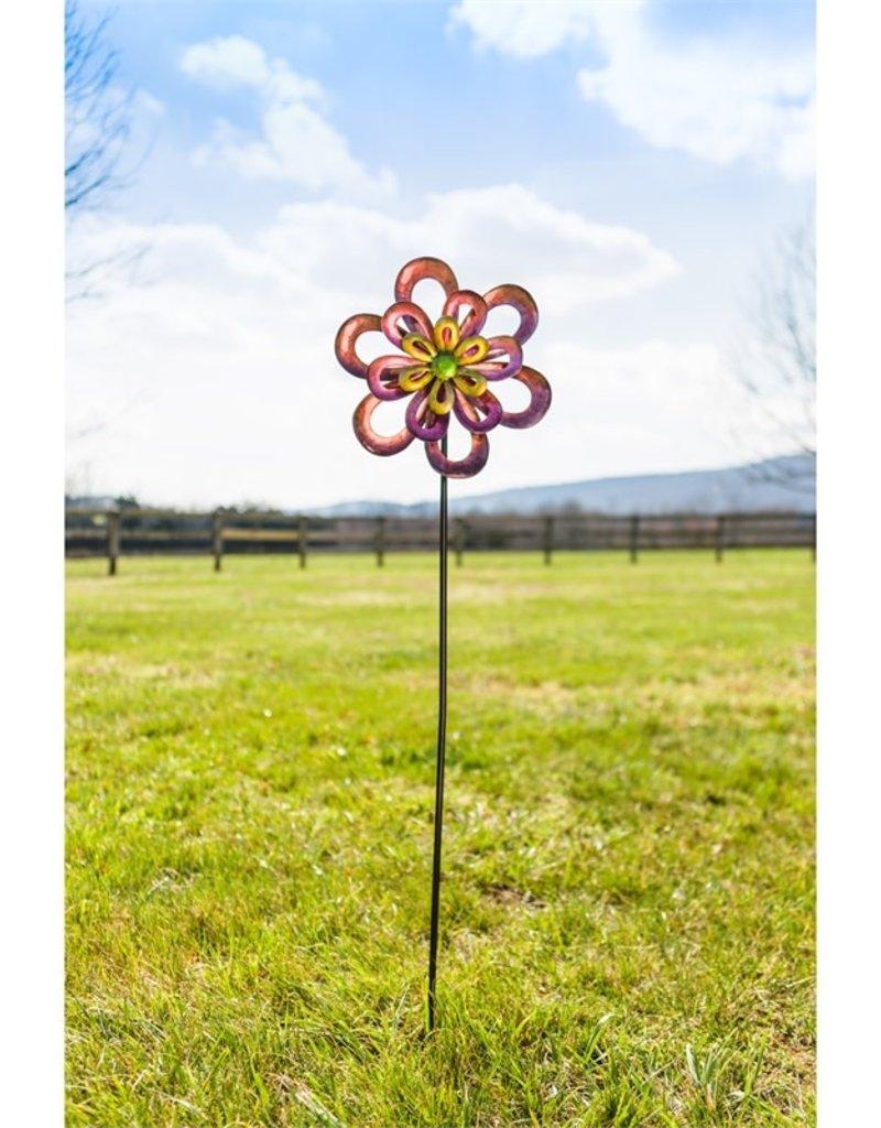 Floral Wind Spinner