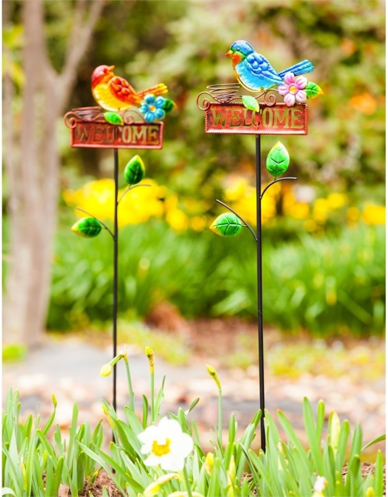 Welcome Stake - Yellow Bird