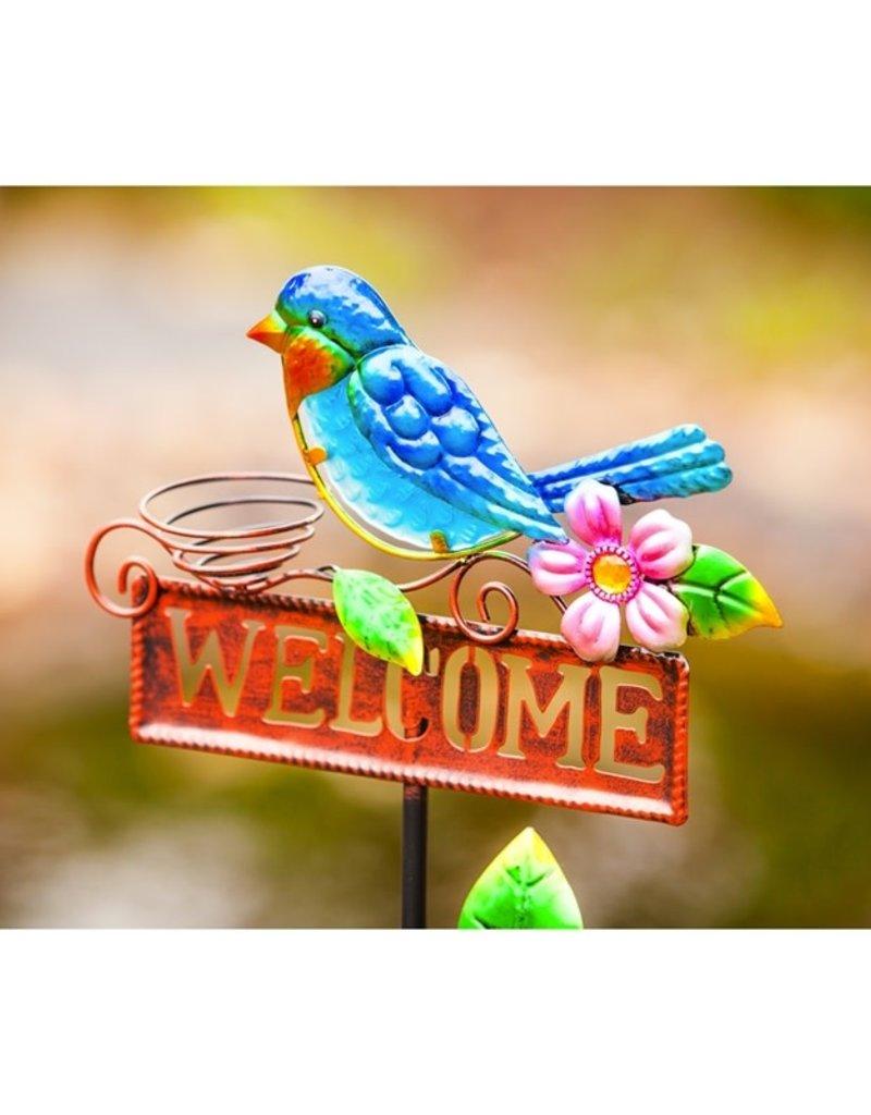 Welcome Stake - Blue Bird