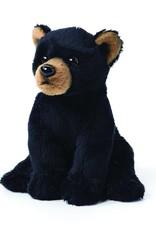 "Black Bear Stuffed Animal - 5.5"""