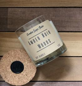 Amber Noir Handpoured Soy Candle