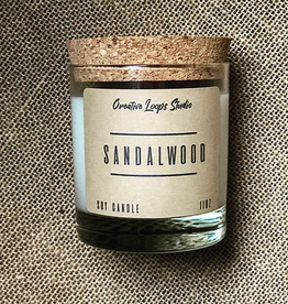 Sandalwood Handpoured Soy Candle