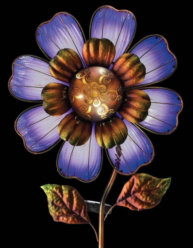 Solar Giant Flower Stake - Purple