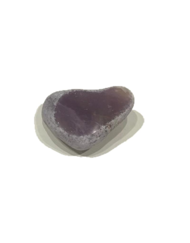River Rock Quartz - Purple