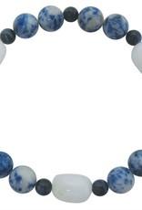 Bracelet - Lapis Lazuli, Quartz, & Sodalite