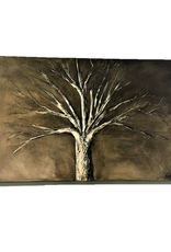 """""""Earth's Umber"""" 36x24 Sculpt Painting"""