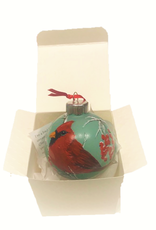 Handpainted Ornament - Winter Cardinal  5