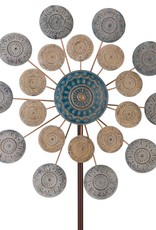 "26"" Wind Spinner - Blue Medallion"