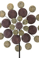 Sage Medallion Wind Spinner