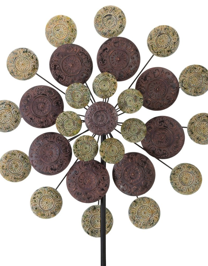 Sage Medallion Wind Spinner