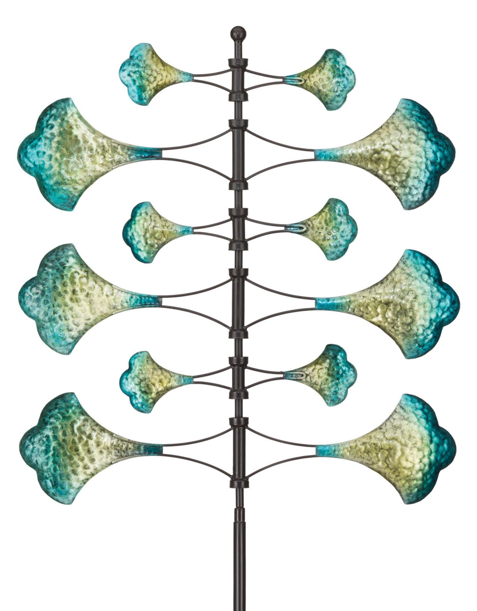 Wind Spinner Stake - Vertical Flower